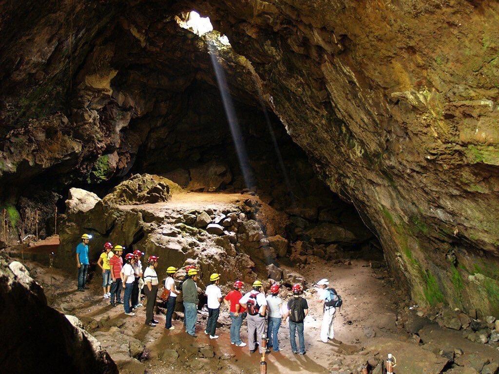 La Cueva de la Orquídea se encuentra en plena zona metropolitana de Xalapa.