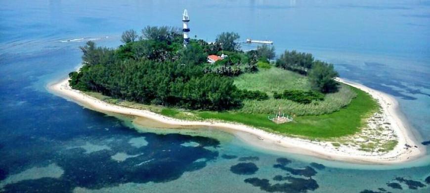 vista de la isla de veracruz